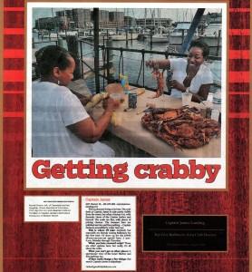 2012-Getting Crabby- Baltimore Magazine